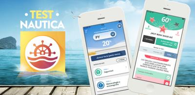 Test Náutica, the app for nautical training.