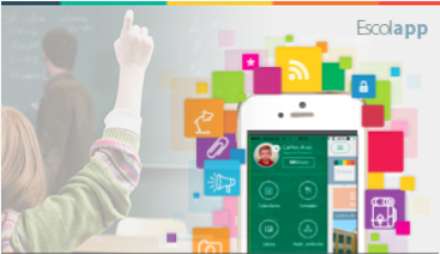 ESCOLAPP is a mobile app that improves communication between schools and parents.